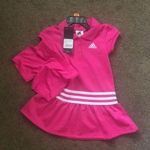 Size 2T Adidas 2pc set
